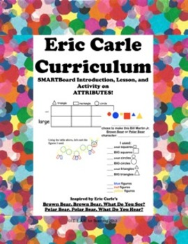 Eric Carle Character Attributes:  A Think Math! Common Cor