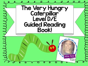 "Printable Level D/E Guided Reading Book ""A Caterpillar's Life."""