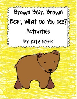 Eric Carle's Brown Bear, Brown Bear, What Do You See? Book