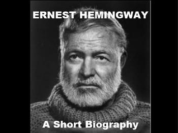 Ernest Hemingway Biography Powerpoint