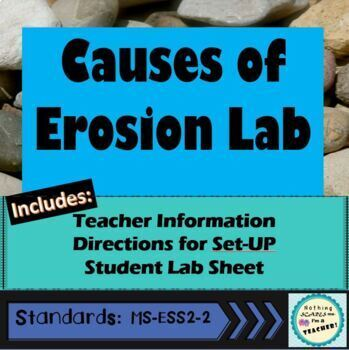 Erosion Lab Stations Activity Centers