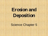 Erosion and Deposition vocabulary