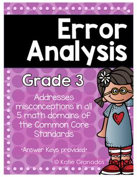 Error Analysis: Problem Solving Word Problems