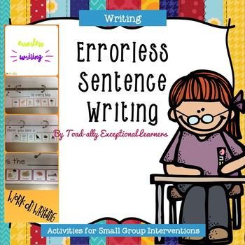 Errorless Writing with Sentence Stems
