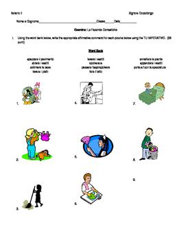 Esamino: Le Facende Domestiche