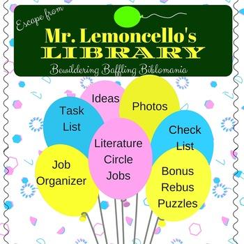 Escape from Lemoncello's Library Literature Circles