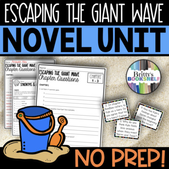 Escaping the Giant Wave by Peg Kehret - A Literature Unit