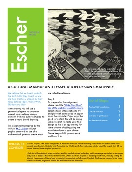 Escher Would be Proud: Exploring Culture and Design with T