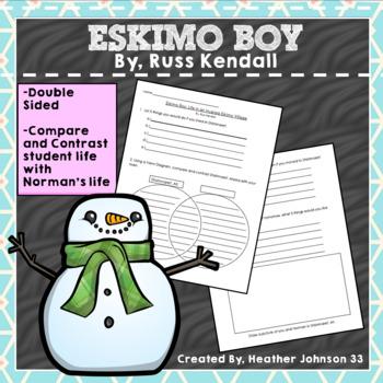 Eskimo Boy By Russ Kendall