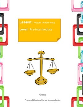 Esl Grammar Lesson: A Perfect Case