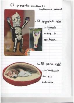 Spanish: El presente continuo