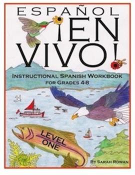 Español En Vivo Level 1 Instructional Spanish Workbook for