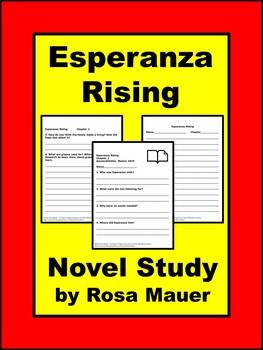 Esperanza rising Literacy Unit WH Questions