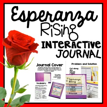 Esperanza Rising Interactive Journal