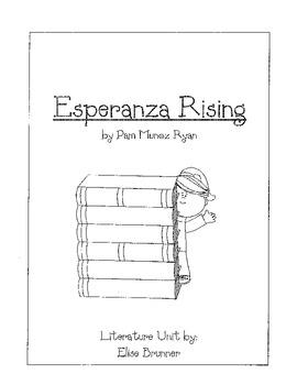 Esperanza Rising - Literature Unit - Common Core Aligned