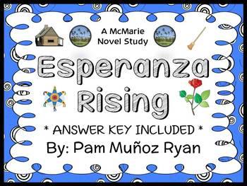 Esperanza Rising (Pam Munoz Ryan) Novel Study / Comprehens