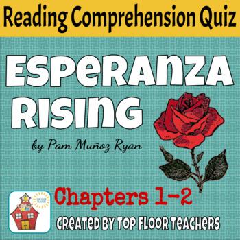 Esperanza Rising Quiz Chapters 1-2