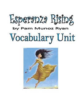 Esperanza Rising Vocabulary Unit