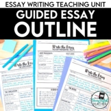 Essay Writing: Mastering the Essay Outline with Guided Ins