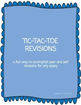 Essay Revision Activity