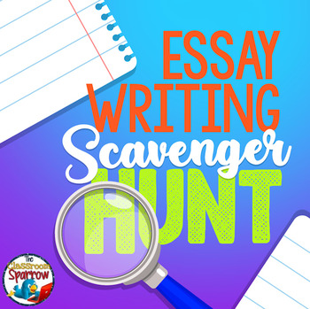 Essay Writing Scavenger Hunt: Learn How to Write a 5 Parag