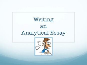 Essay Writing - Analytical