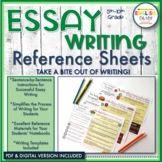 Essay Writing Bundle-Introduction, Body, & Conclusion Para