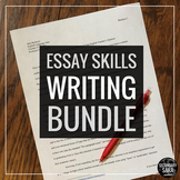 Essay Writing Mega Bundle: Buy Together and Save Over 30%!