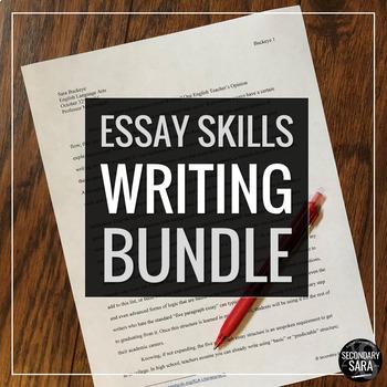 Essay Writing Mega Bundle {UPDATED}: Buy Together and Save