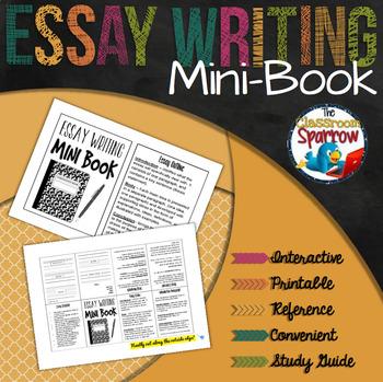 Essay Writing Mini-Book (A Perfect Addition to an ELA Inte