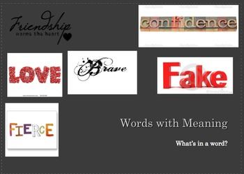 Essay on Meaninful Word
