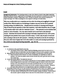 Essays and Passages for Critical Thinking