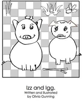 Essential Phonics Reader - Izz and Igg Pig