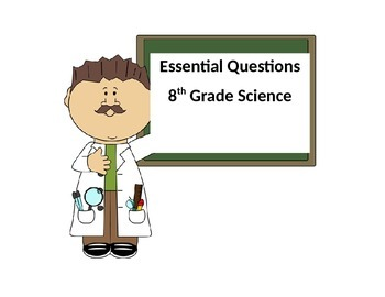 Essential Question Cards