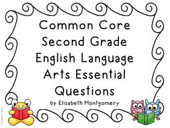 Essential Questions Second Grade Common Core English Langu