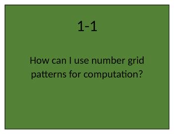 EverydayMath Grade 3 2016 CCSS Version Essential Questions