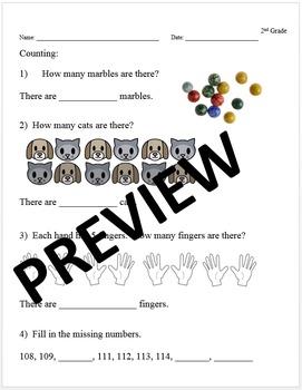 2nd Grade Common Core Math Intervention Diagnostic Essenti