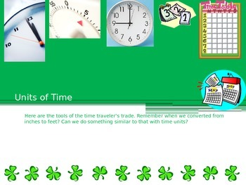 Essential Units of Time--Elementary Math