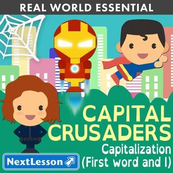 K Capitalizing Sentences and 'I' - 'Capital Crusaders' Ess