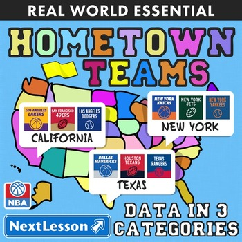 Essentials Bundle - Data in 3 Categories – Hometown Teams