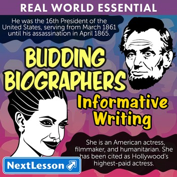 Essentials Bundle – Informative Writing – Budding Biograph