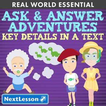 G1 Key Details in a Text - 'Ask & Answer Adventures' Essen