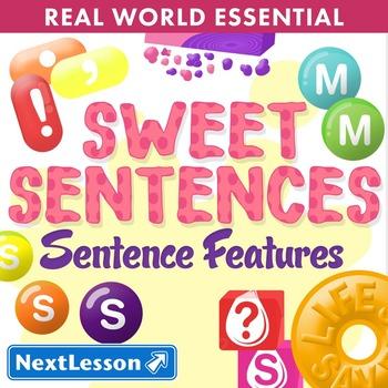 Essentials Bundle – Sentence Features – Sweet Sentences - ELA