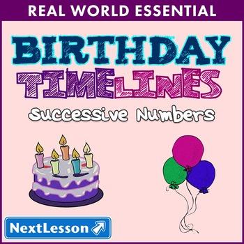 Essentials Bundle - Successive Numbers – Birthday Timelines