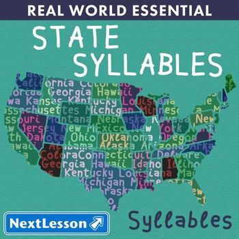 Essentials Bundle – Syllables – State Syllables - ELA