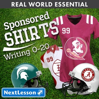 Essentials Bundle - Writing 0-20 - Sponsored Shirts