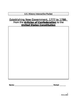 Establishing New Government (The United States)