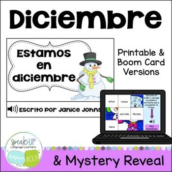 Estamos en diciembre Spanish December reader {libro en español}