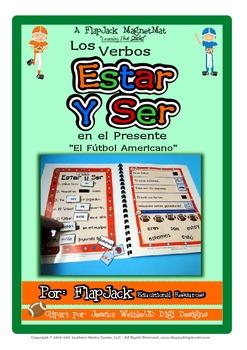 Estar and Ser Spanish Verbs MagnetMat Fun