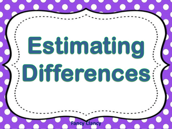 Estimating Differences PowerPoint Pearson 2-8